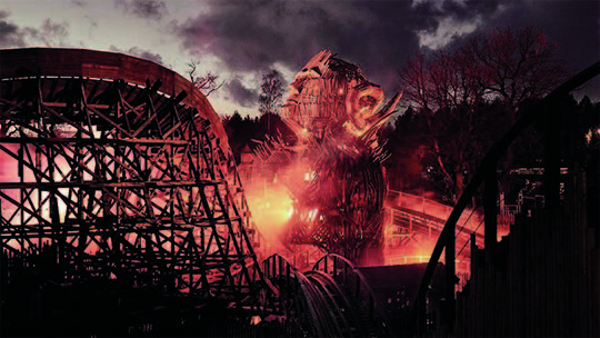 Alton Towers – Wicker Man